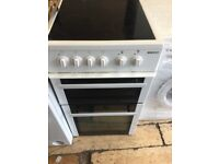 50cm Beko electric cooker in mint condition with a warranty