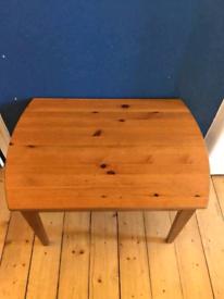 IKEA dark wooden childrens table