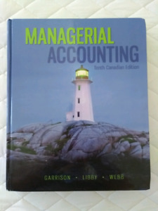 Managerial accounting textbook (commerce - business - DELIVERY)