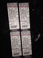 4 One Direction Tickets Edmonton July 21