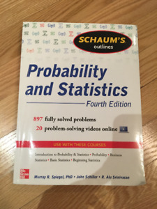 Schaum's Outlines Probabibility and Statistics 4th Ed.