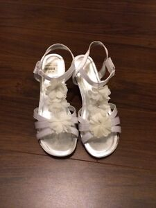 Size 3.5 wedding or dressy sandal worn once