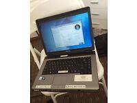 "Toshiba L300-19Q 3GB 15.4"" ex school laptop good condition"