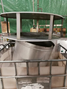 Used stainless steel factory chimney vent pipe 20 inch diameter