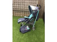 Micky mouse pushchair