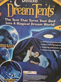 Dream tent space adventure
