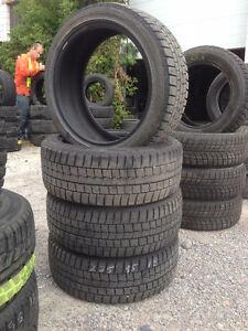 Four 225 45 R18 Dunlop Winter Max Snow Tires