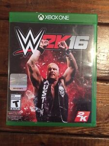 WWE 2K16 Perfect Condition XBOX One