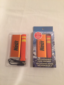 Réchauffe-mains rechargeable neuf