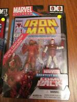 Marvel Univ. comic pack Silver centurion (Iron Man) VS Mandarin