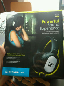 Selling Sennheiser HD 201 Headphones Lightweight Excellent condi