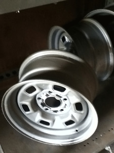 Two 14X7 GM Rims JJ
