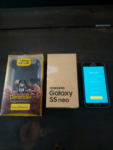 Samsung Galaxy S5 Neo with Otterbox $215 OBO