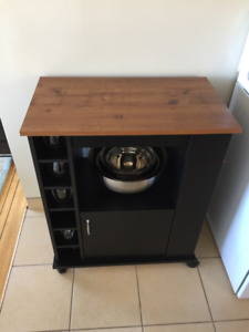 Kitchen cart for sale - Worcester Kitchen Cart with Wood Top