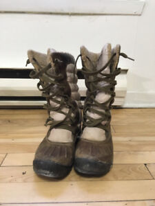 Timberland winter boots for woman in good conditions