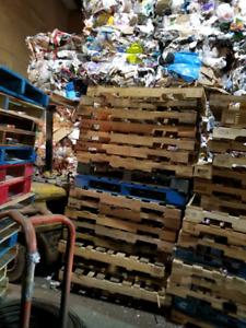 Achat de palette de bois 40x48 standards