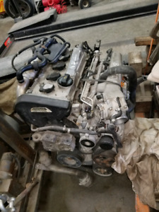Vw jetta 1.8 turbo motor and 5 speed transmission