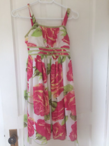Elegant chiffon dress, size 12
