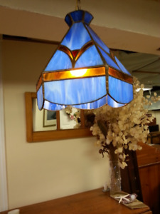 Stained-Glass Swag Light