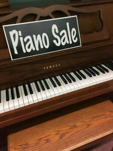 "Used Piano Sale  ""Store Renovation Sale"""