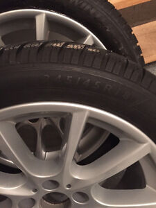 BMW Winter Wheel and Tires Pkg. 5 and 6 Series