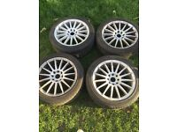 Set of ford alloys