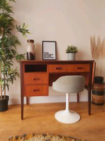 mid century extending desk danish style