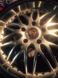 Porsche 993 wheels