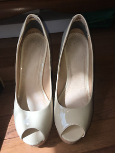 Nude Wedge Heels from Le Chateau
