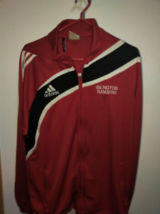 Adidas Mens Zip-Up Track Top (Large)