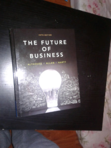 The Future of Business -fifth addition- Althouse, Allan, Hart