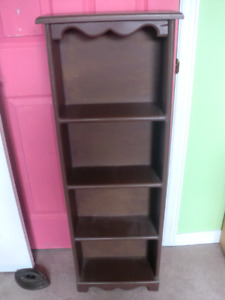 Wooden Shelf Unit - 45 inches by 16,