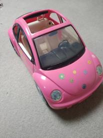 Barbie VW car