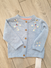 Mothercare soft cotton summer cardigan various sizes