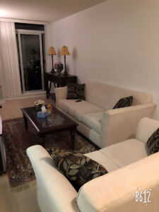 Furnished luxury 1+den condo  Bayview and Sheppard (Dec.8-Jan.7)