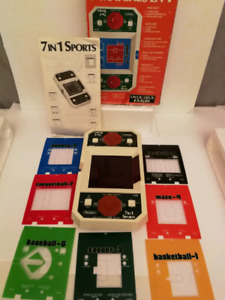 Vintage Sears Electronics 7 In 1 Sports