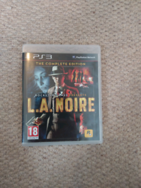 PlayStation 3 Game: L.A. Noire