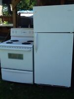 Stove and fridge for sale (neg)