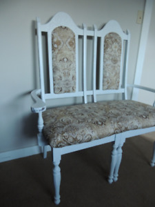 Beautifully Classic High-back Bench by S.J.S Creations