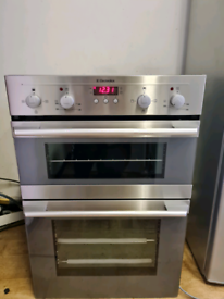 Electrolux double electric oven built-in stainless Steel 60cm