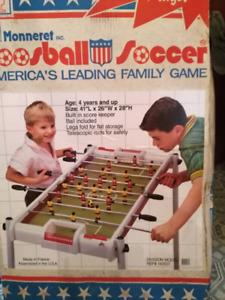 Foosball Soccer Game