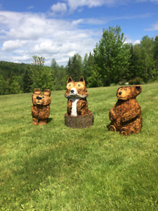 Chainsaw Carvings For Sale!