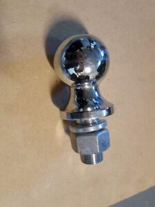 ----->>>> Brand new 2  inch hitch ball and 1 7/8 inch ball