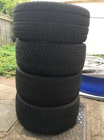 """Winter tyres 19"""" like new"""