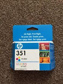HP printer ink 351 tri-colour