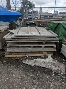 FREE two large crates appox 6'x6'x6'