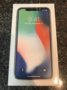 iPhone X 256G grey & white $1550