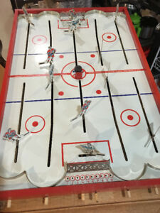 Vintage Table Hockey Game