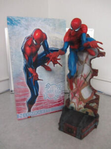 Spiderman statue exclusive Sideshow Collectibles