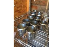 Stainless Steel mini Milk Jugs